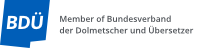 BDÜ German National Association of Interpreters and Translators